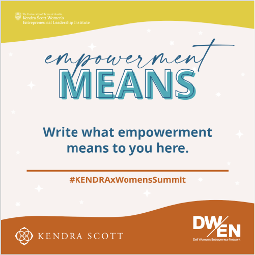 Empowerment Means...
