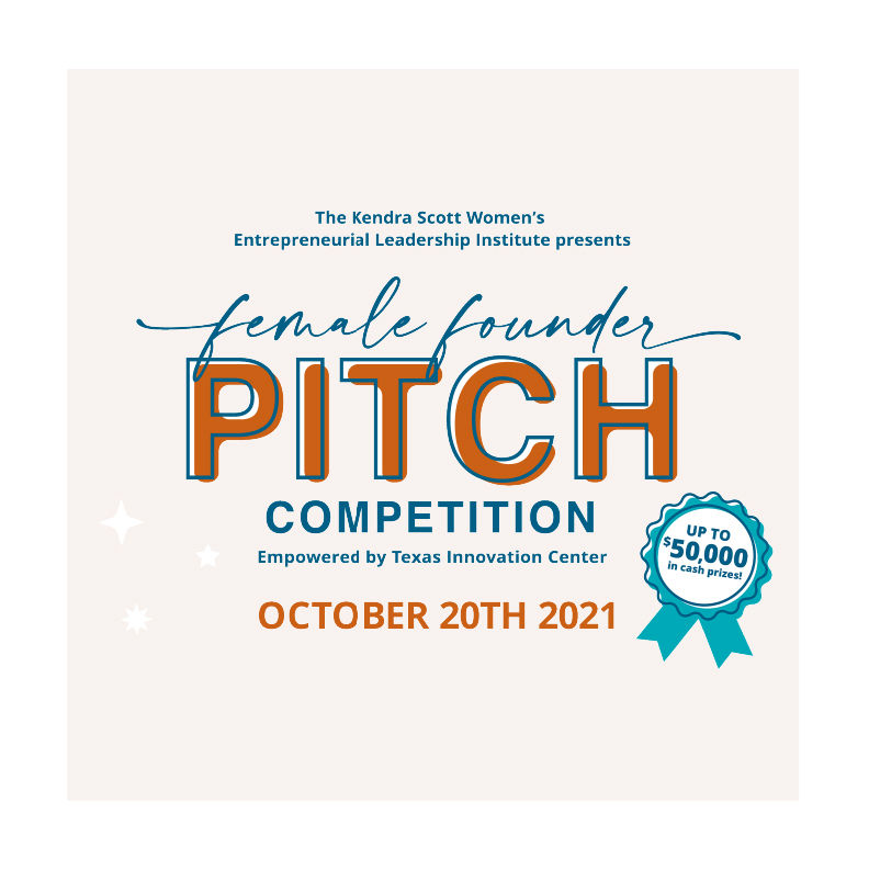Female Founder Pitch Competition - October 20th, 2021