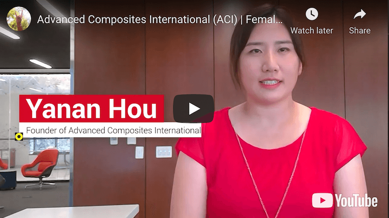 Advanced Composites International Female Founder Pitch Competition