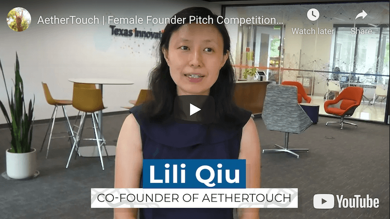AetherTouch Female Founder Pitch Competition