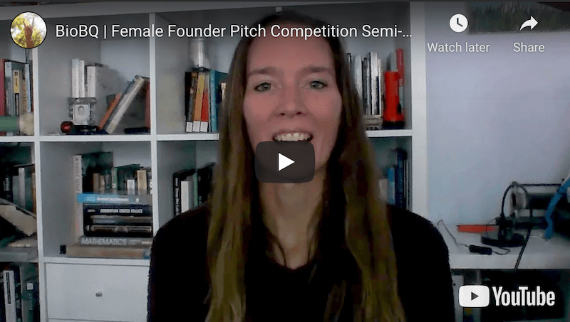 BioBQ, Inc. Female Founder Pitch Competition