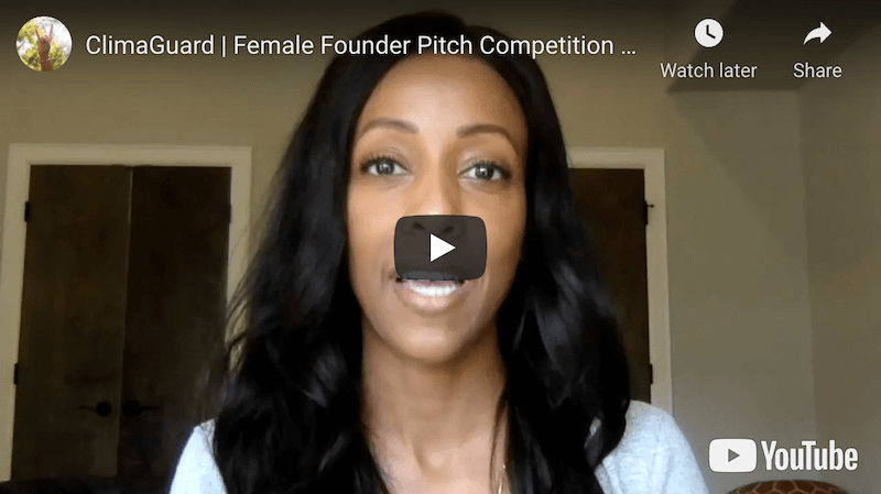 ClimaGuard Female Founder Pitch Competition