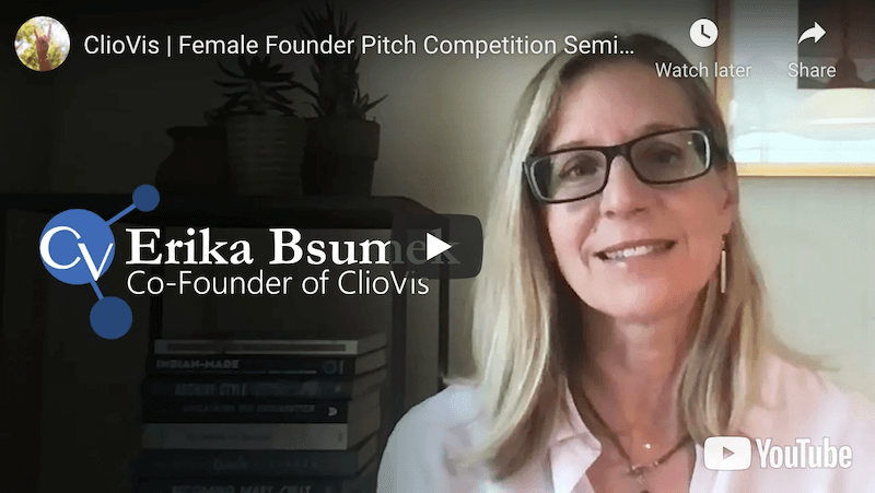 ClioVis Female Founder Pitch Competition