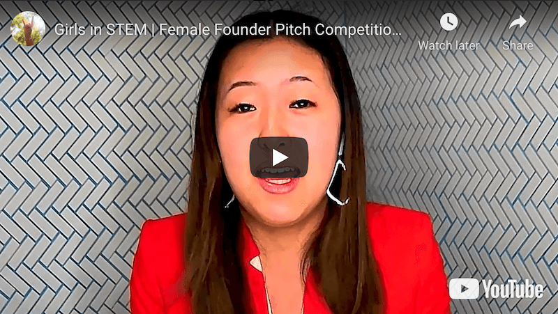 Girls in Stem Female Founder Pitch Competition