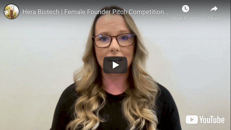 Hera Biotech Female Founder Pitch Competition
