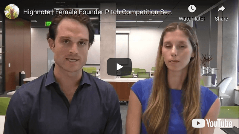Highnote Female Founder Pitch Competition