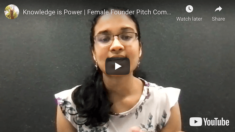 Knowledge is Power Female Founder Pitch Competition
