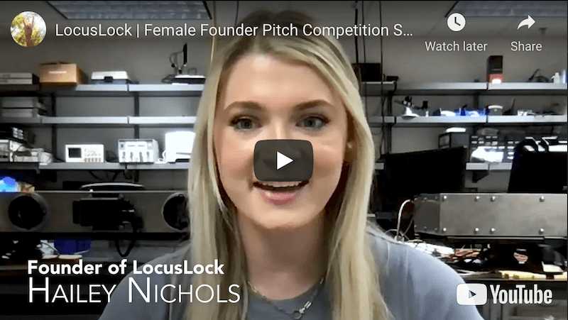 LocusLock Female Founder Pitch Competition