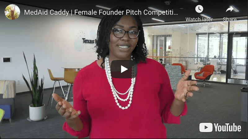 MedAid Caddy Female Founder Pitch Competition