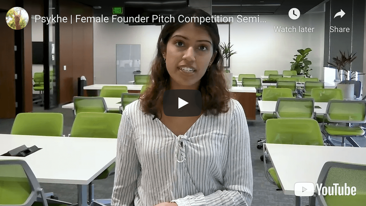 Psykhe Female Founder Pitch Competition Video